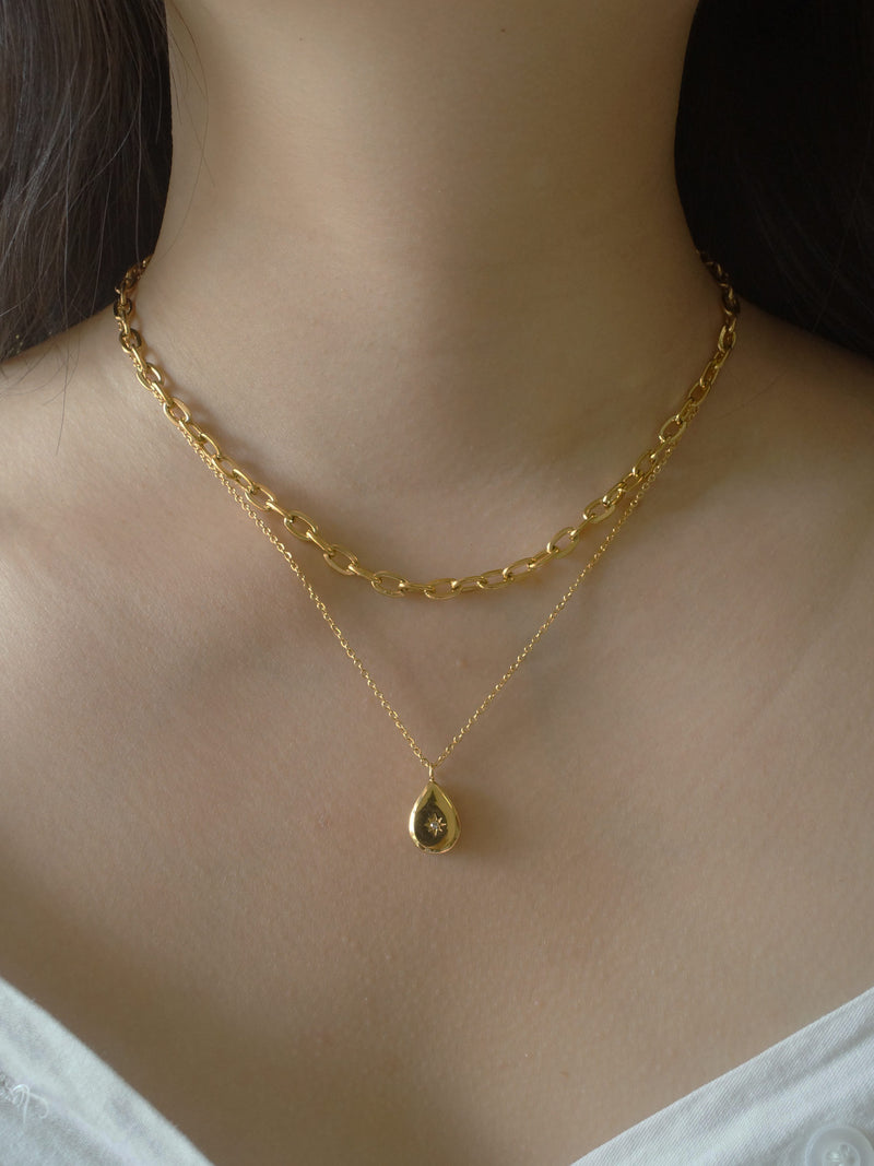 AYN Chain Necklace *18K Gold-plated