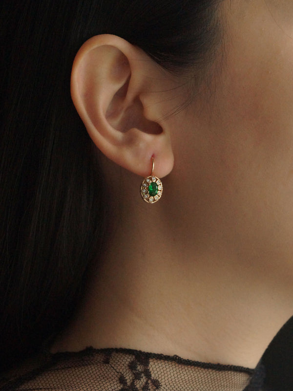 MARTUSKA Earrings - Jade Green *Gold-plated // GABI EXCLUSIVE
