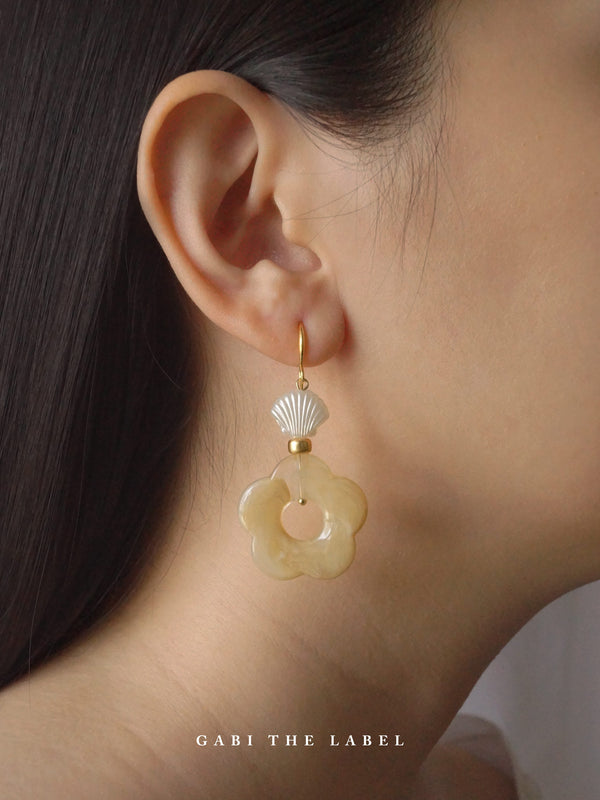 Vintage Lolita Earrings - Short *18K Gold-plated
