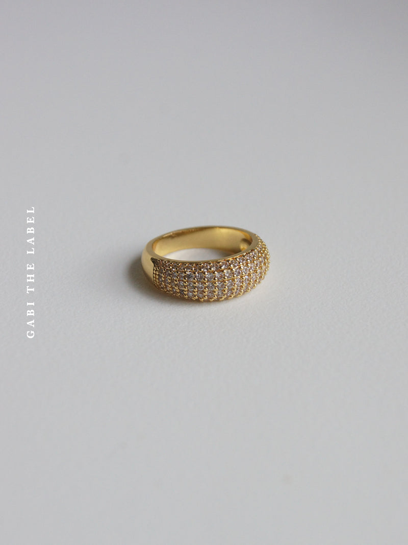 CALDWELL Ring *14K Gold-plated