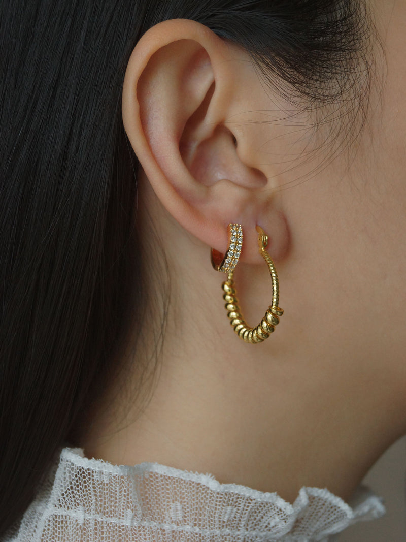 CHOLET Hoops *Gold-plated
