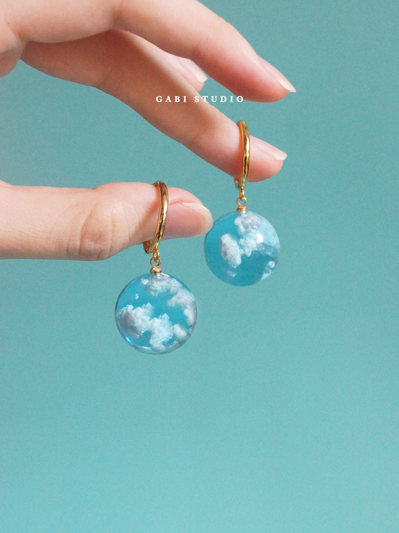 CLOUD Hoops *18K Gold-plated