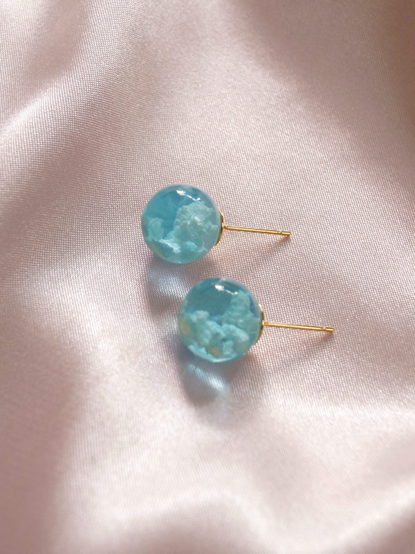 CLOUD Earstuds *18K Gold-plated