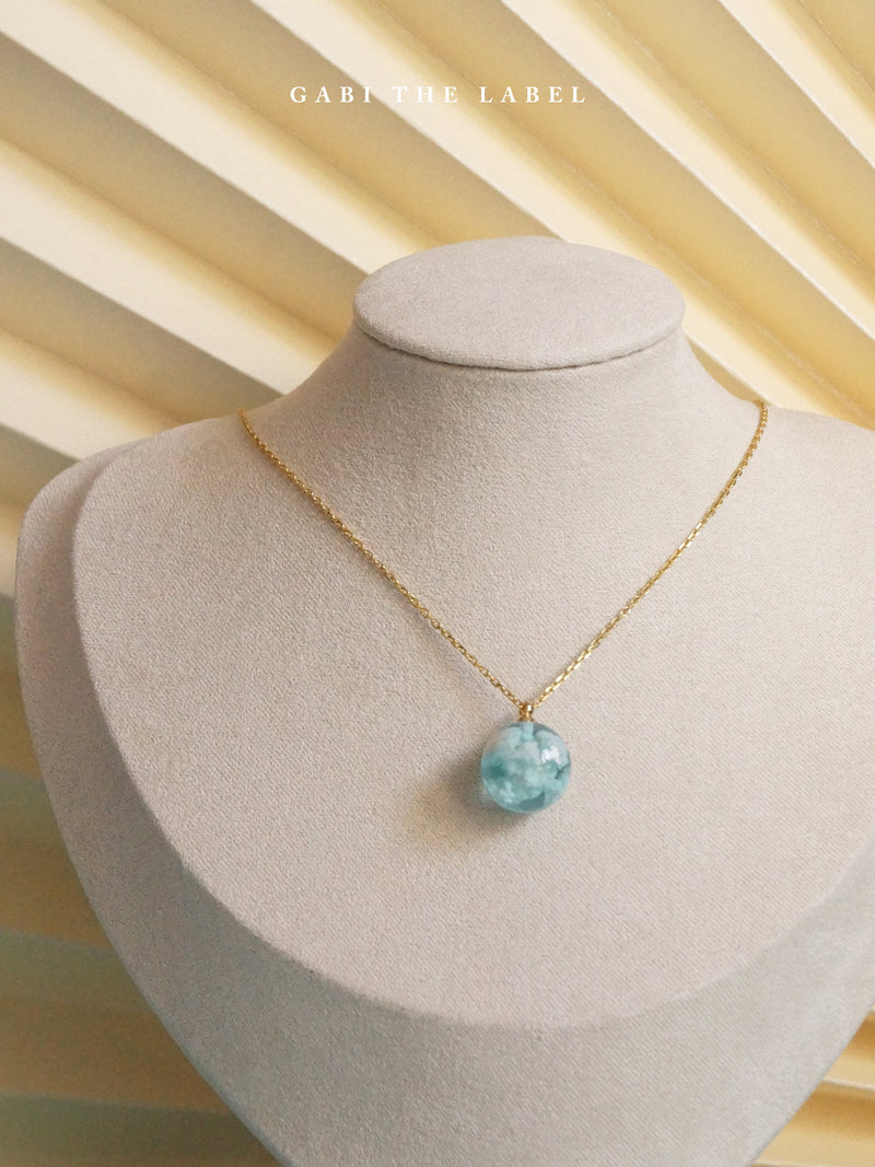 CLOUD Necklace *18K Gold-plated S925