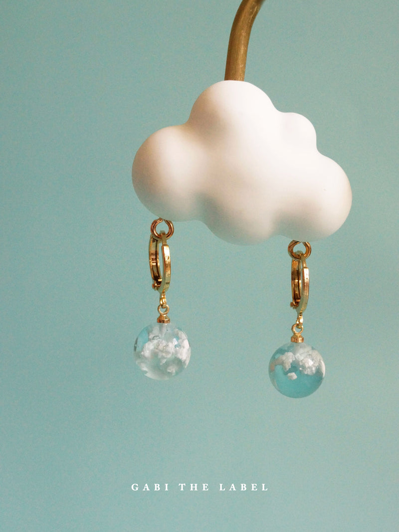 CLOUD Huggies *18K Gold-plated