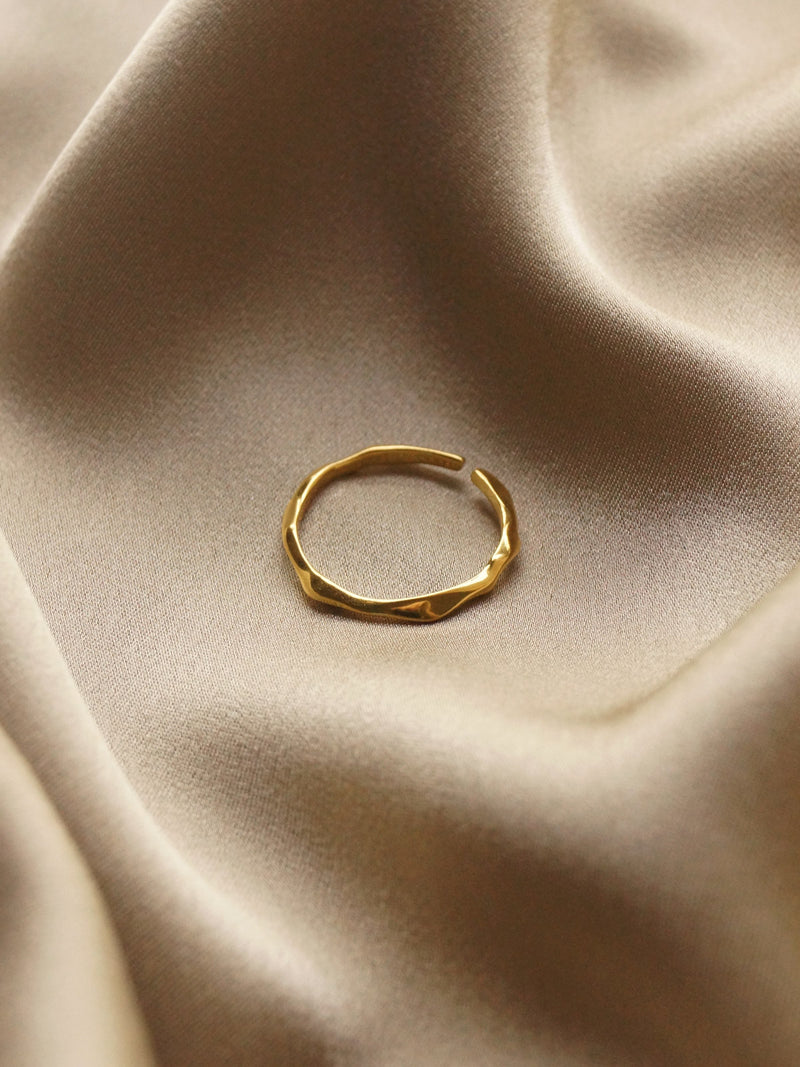 Cryo Ring *18k Gold-plated S925