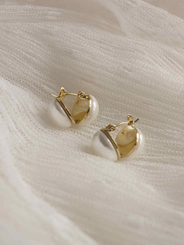 DAI Earrings *Gold-plated