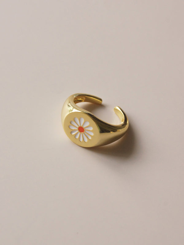 DAISY Ring *18k Gold-plated S925