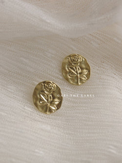 DOI Earstuds *Gold-plated S925 Earposts