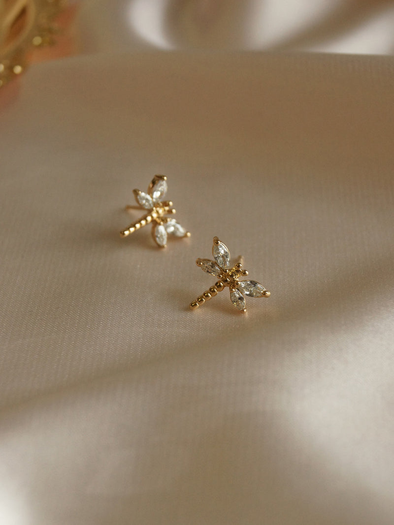 DRAGONFLY Earstuds *Gold-plated