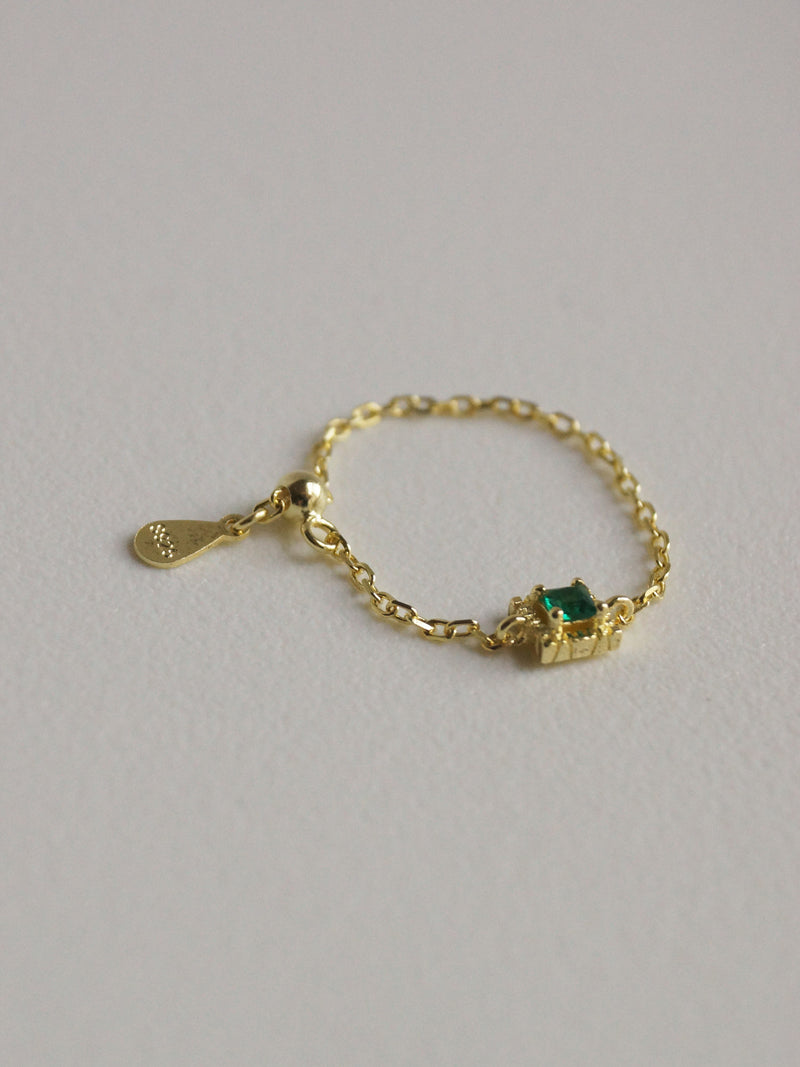 EARTHA Ring *Gold-plated S925