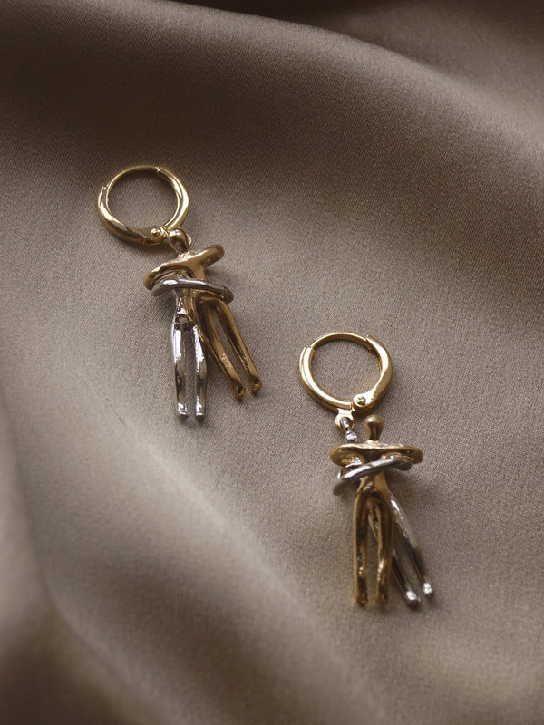 The Eternal Embrace Earrings - Small