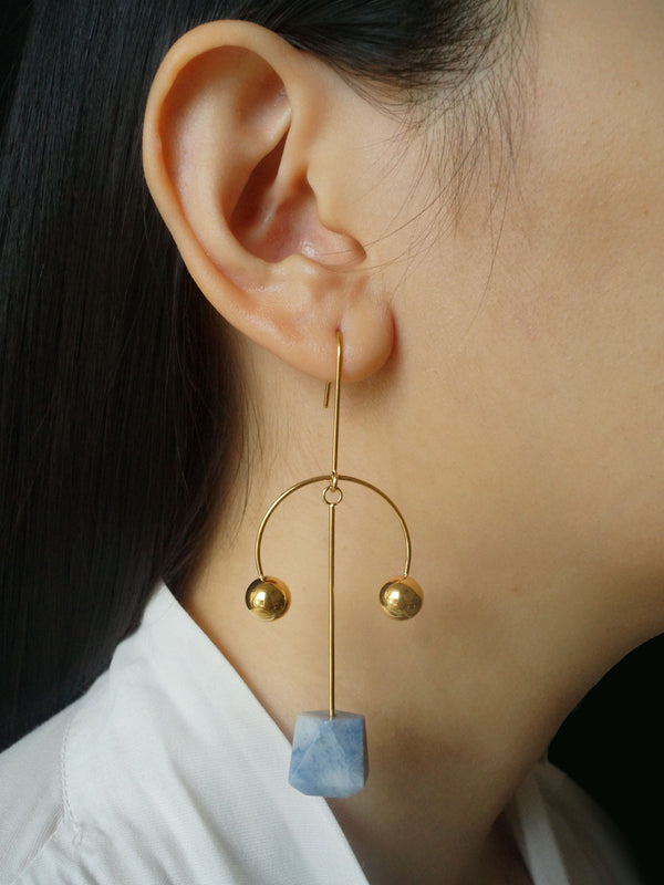 The Empire Earrings *18K Gold-plated
