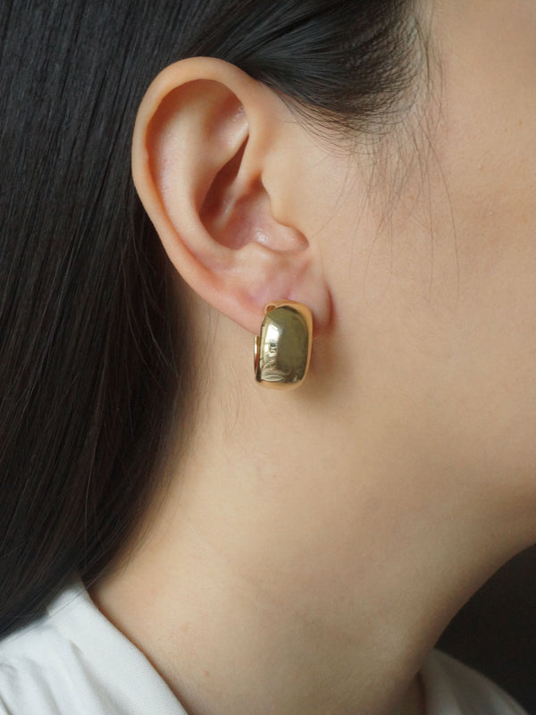 Essential Bold Hoops - Gold *14k Gold-plated