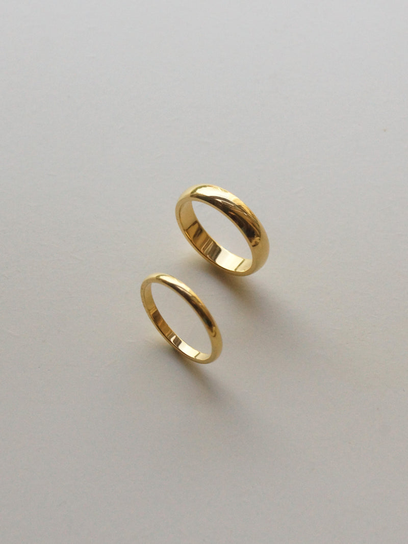 The Essential Ring - Thin *18k Gold-plated
