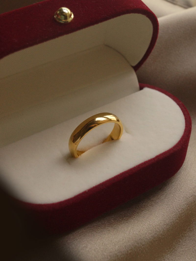 The Essential Ring - Medium *18k Gold-plated