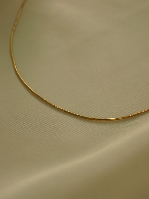 The Essential Necklace *18K Gold-plated Stainless Steel