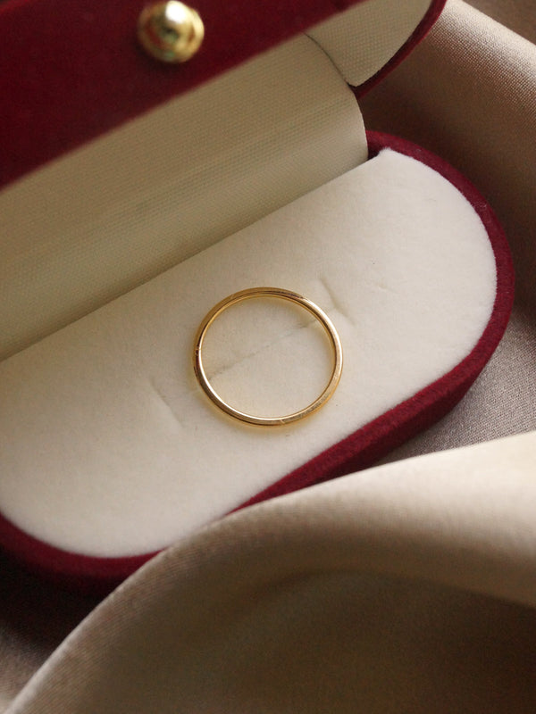 The Everyday Ring *14k Gold-plated S925