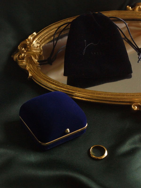 Vintage Jewellery Box - Royal Blue