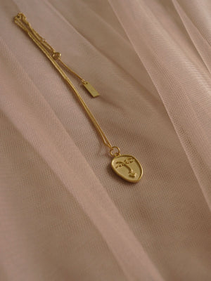 Oli Necklace (18K Gold-plated 925 Sterling Silver)