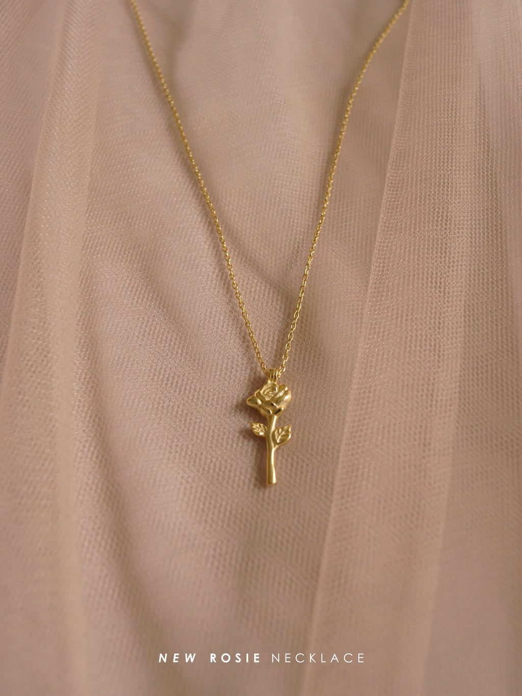 Rosie Necklace (18K Gold-plated 925 Sterling Silver)