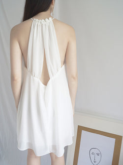 Aria Dress - White