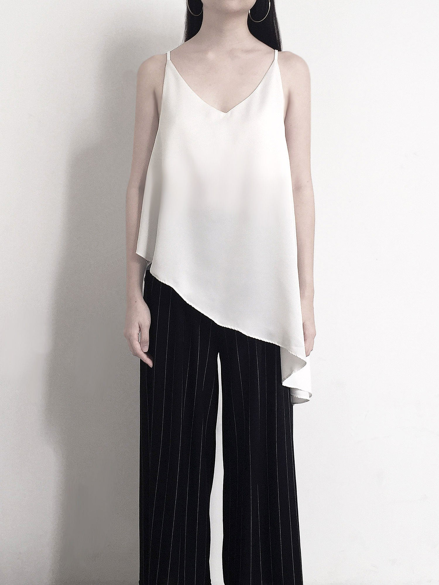 Frida Top - White/Black - Gabi The Label