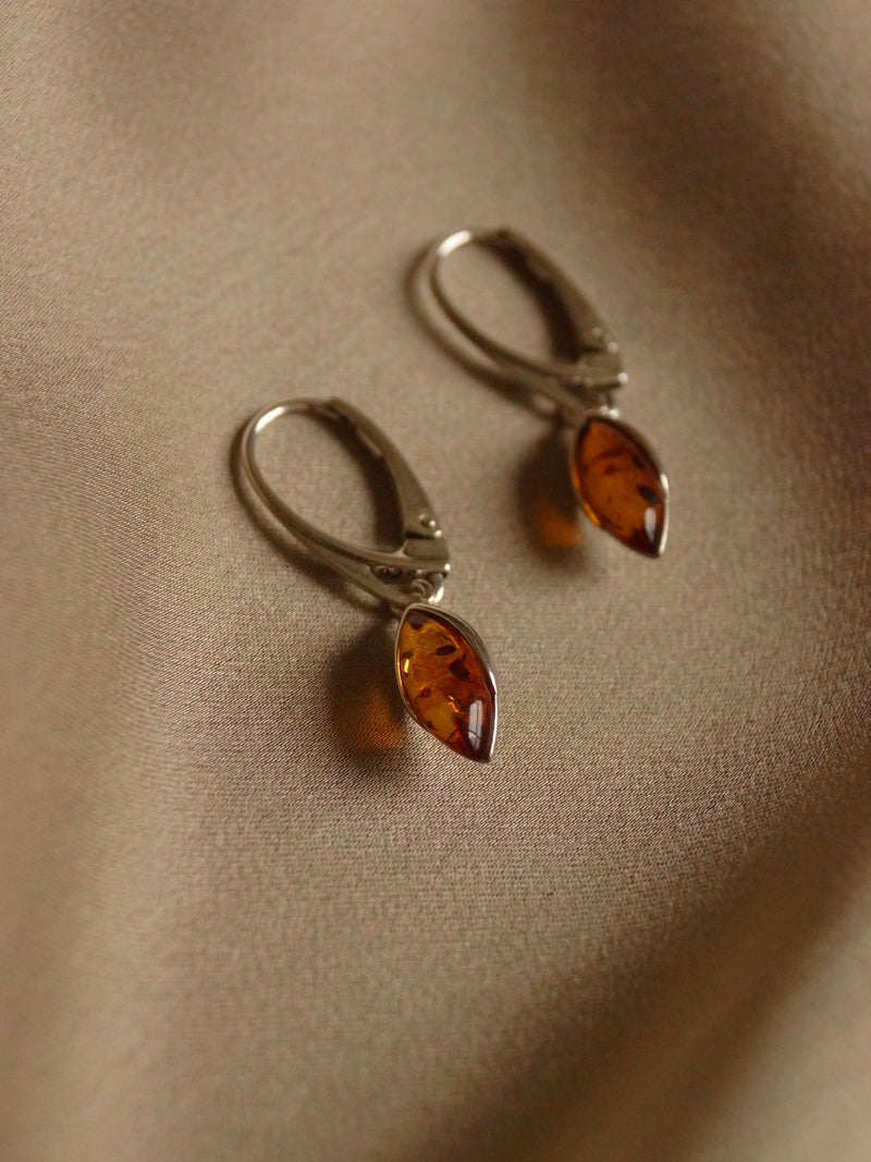 GABI EXCLUSIVE // HEKA Amber Earrings *925 Silver