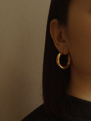 Ane Small Hoops - Gold