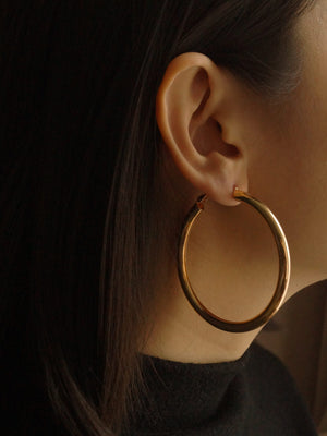 Ane Big Hoops - Gold