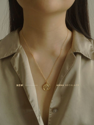 Anna (coin) Necklace
