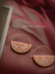 GABI EXCLUSIVE // Collection Italiano - Fia Hoop Earrings