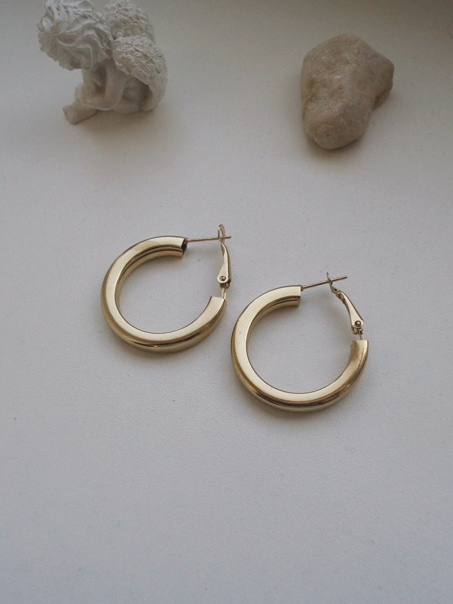 GABI EXCLUSIVE // Collection Italiano - Giulia Hoops - Gold