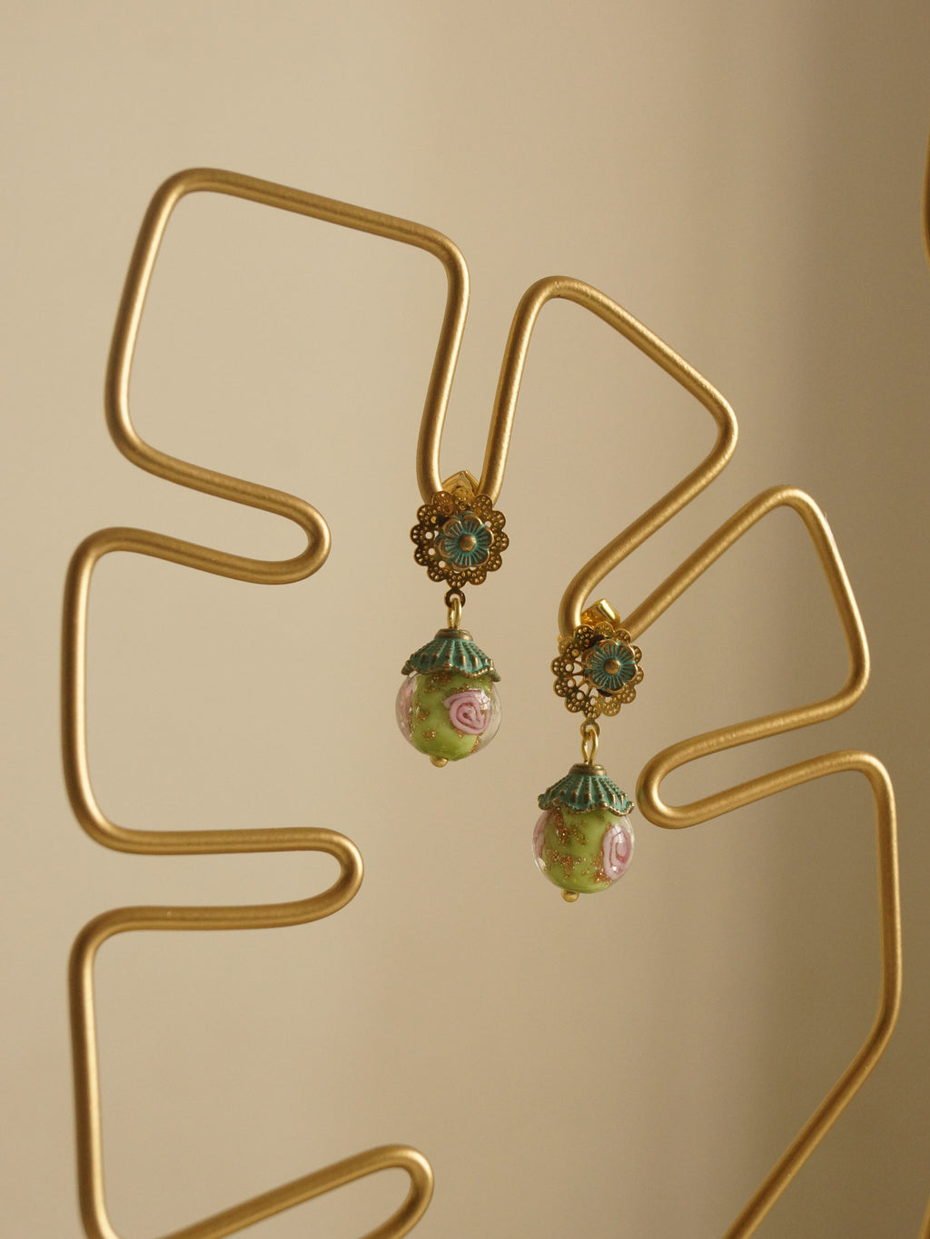 Zhao Jun Earrings (S925 Ear-posts)