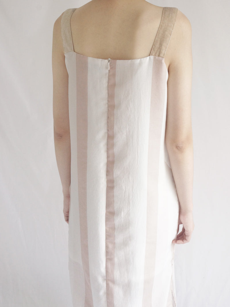 Holly Dress - Beige Pink