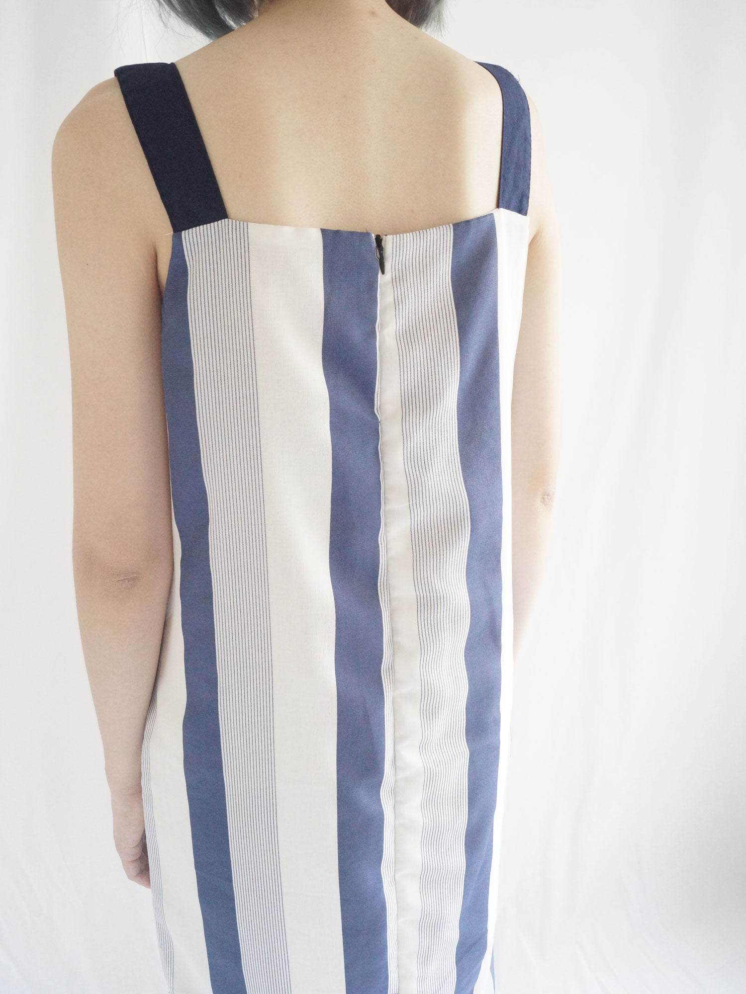 Holly Dress - Navy Blue