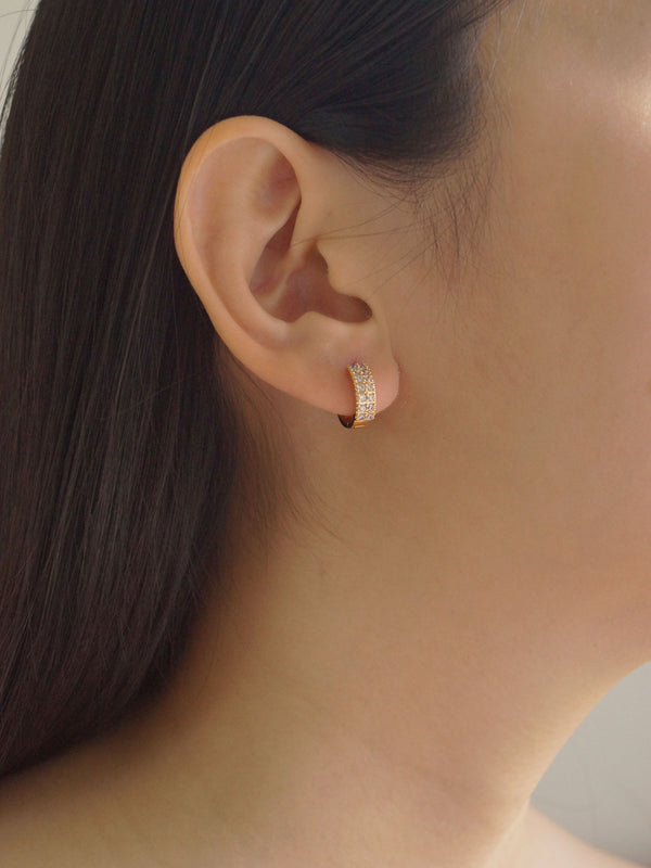 ISA Earrings *18K Gold-plated (GABI PREMIUM)