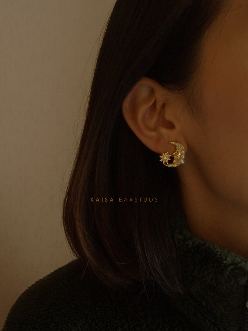 Kaisa Earstuds *S925 Ear-posts