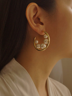 Leoni Hoops *Gold-plated (GABI PREMIUM)