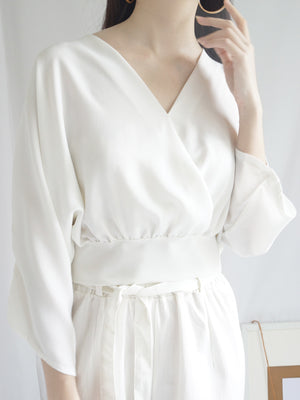 Lizzie Top - White