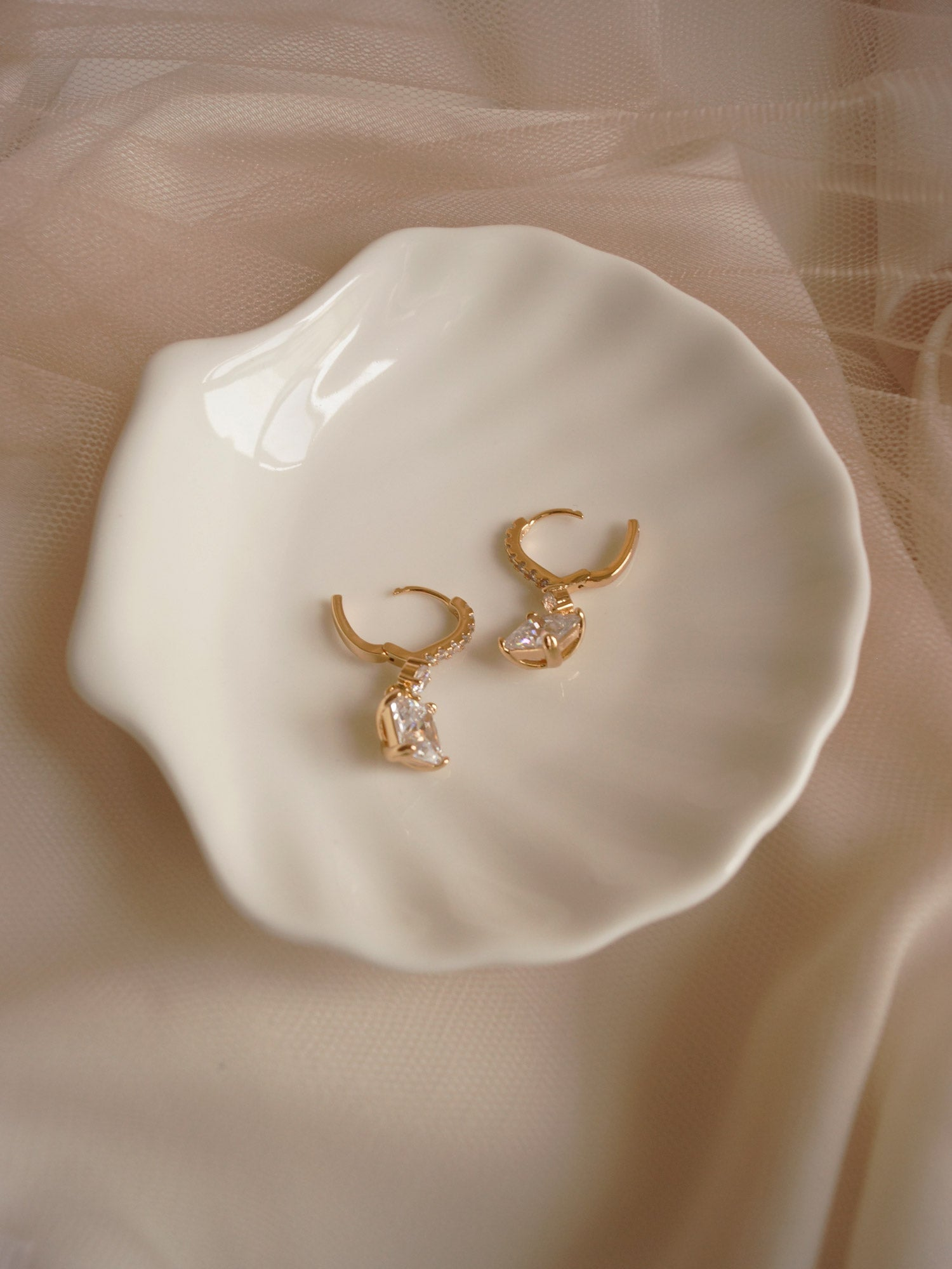MILA Earrings *18K Gold-plated (GABI PREMIUM)