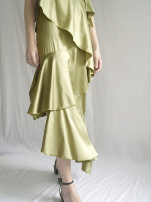 Morocco Satin Dress