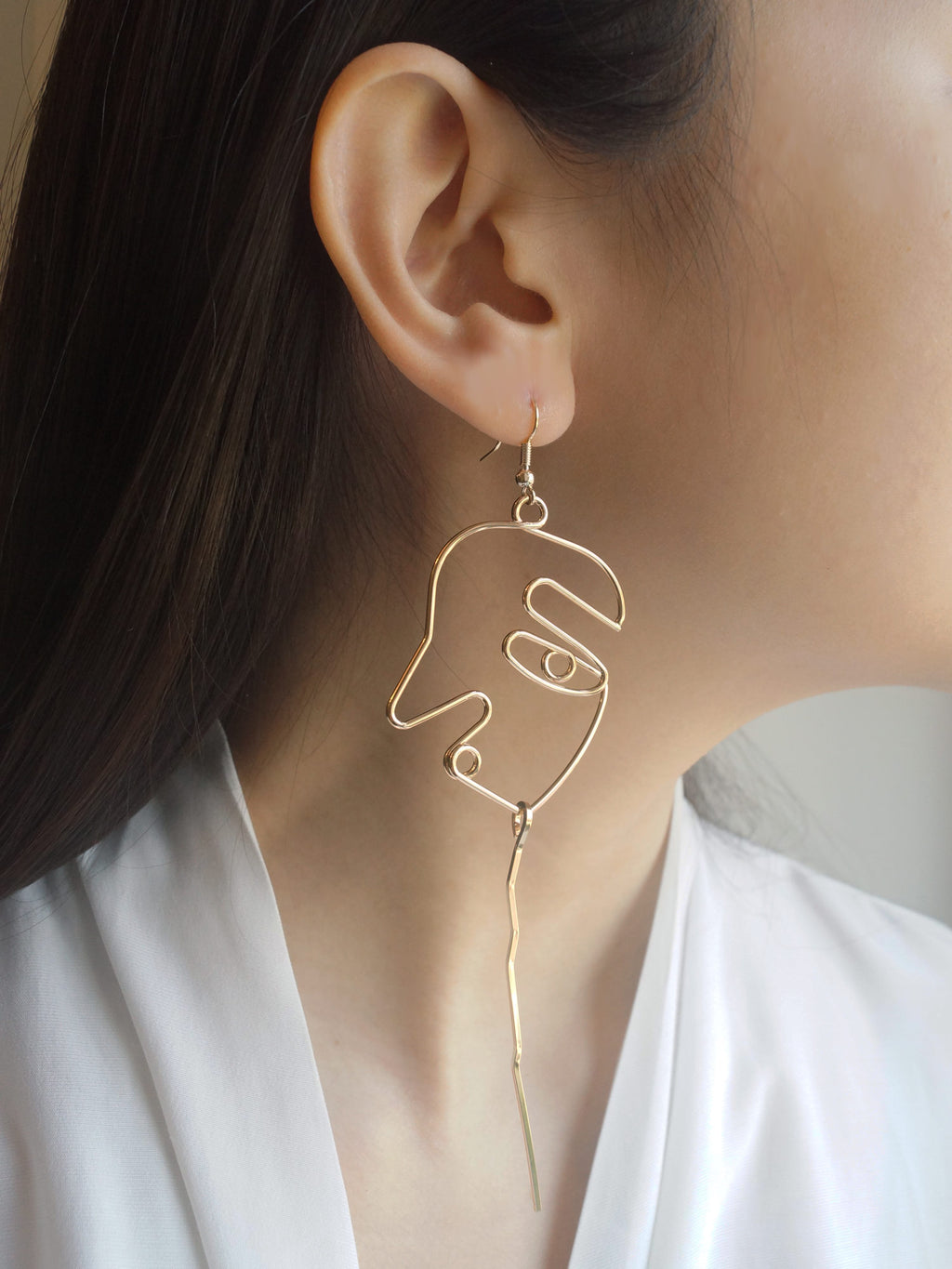 Mwo (Face) Earrings