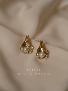Olá Earrings - Gold (S925 Ear-posts)