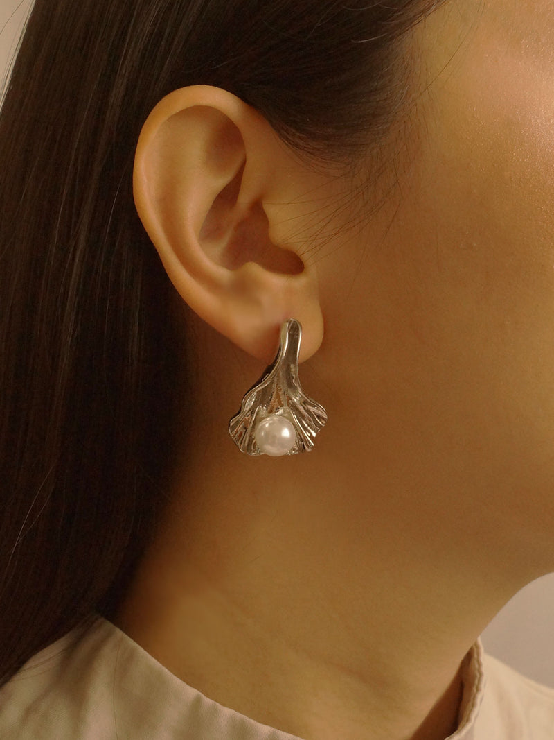 Olá Earrings - Silver (S925 Ear-posts)