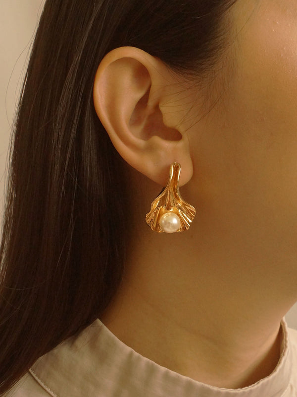 Olá Earrings - Gold *S925 Earposts