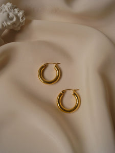 Ona Hoops (Gold-plated) *GABI PREMIUM