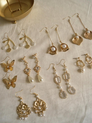 Pearl of the Orient Earrings