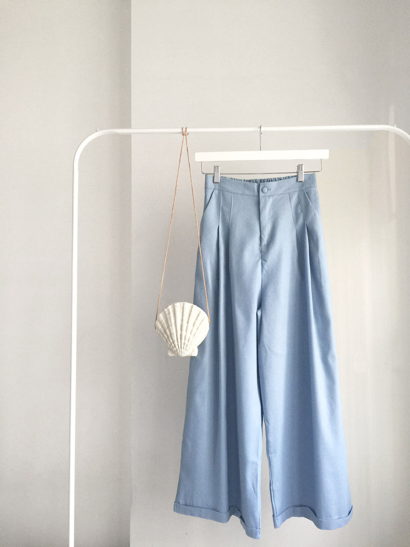 Gabi Resort Pants - Light Blue - Gabi The Label