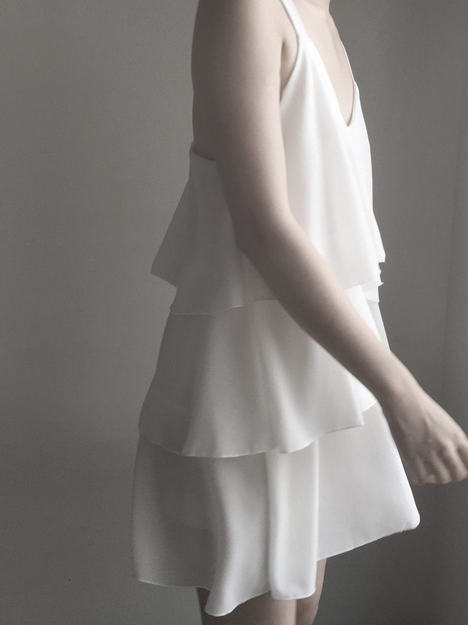Louisa Dress - White – Gabi The Label